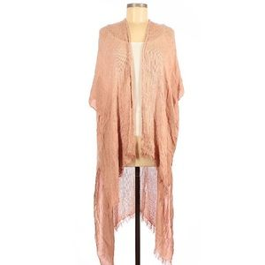 Free People Dusty Rose Boho Wrap • One Size